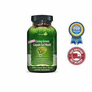Irwin Naturals Women's Liquid-Gel Multivitamin, 120 Softgels