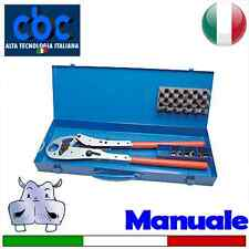 Pressatrice manuale con coppie inserti 14-16-18-20-26 – TH (9640050)