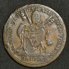 MDCCCI (1801)R, Papal States, Pius VII, Baiocco, KM126