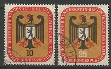 BERLIN. 1956. Federal Council Meeting Set. SG: B147/48. Fine Used.