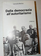 Storia Spagna Franco Franchismo, Morlino: Dalla democrazia all'autoritarismo