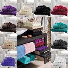 Luxury Kensington Egyptian 100% Natural Cotton Bath Hand Towel & Sheet New