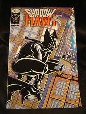 Comic book Shadow Hawk #3 1992 superhero Jim Valentino art glow in the dark Wolf