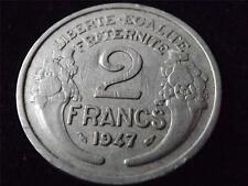 1947 FRANCE 2 FRANCS COIN.