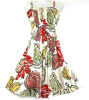 NWT Coast Dress 'Liberia' Floral Multicolour Flared UK 8 RRP £95