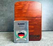 Zippo Germany Football Limited Edition - Only 250 Made w/ Wooden Display Box