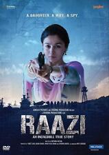 RAAZI * ALIA BHATT - ORIGINAL SPECIAL EDITION BOLLYWOOD DVD