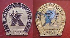 DISTINTIVO FIERA CAVALLI VERONA 1982 - IPPICA - EQUITAZIONE #2