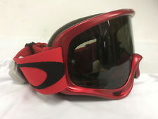OAKLEY O FRAME MX UTV SXS SAND GOGGLE MET RED WITH GRAY LENS CLEARANCE SALE