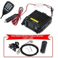 KT-8900D Dual Band 25W Car Mobile Radio Transceiver&Antenna&Mount&16FT Cable