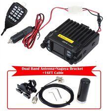 QYT KT-8900D Quad-Standby Auto Funkgerät+HH-N2RS Antenne+Nagoya-berg+5M Kabel