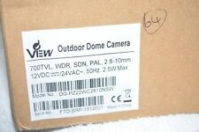 DVIEW OUTDOOR DOME CAMERA 700TVL WDR SDN PAL 2.8-10MMM [64]