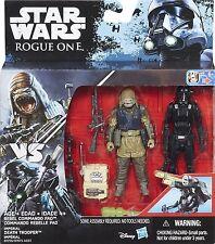 Star Wars Rogue un comandante rebelde Pao/la muerte Trooper Figuras De Acción Nuevo Sellado