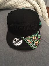New Era Teenage Mutant Ninja Turtles 9Fifty Black Snapback Hat NEW