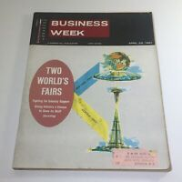 Business Week Magazine: April 22 1961 - Two World's Fair NY 1964 & Seattle 1962