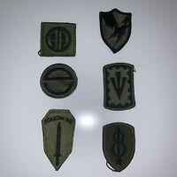 Military Patch LOT of (6) - Domestic USA