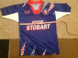 Red Fox - Carlisle United Youth Home Football Shirt - Eddie Stobart - Free P+P