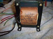Triad F-61U Filament Transformer 115V 60CPS SEC mulititap --------shelf---- O