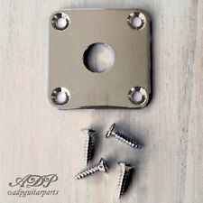 PLAQUE INPUT JACK PLATE for Gibson Epiphone Les Paul LP type guitar NICKEL Gotoh