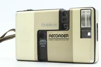 【 NEAR MINT 】 Konica Recorder Half Frame 35mm Film Camera Gold  from Japan #678