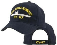 U.S. Navy USS John F Kennedy Officially Licensed Military Baseball Cap Hat