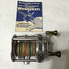 ANTIQUE SHAKESPEARE  FISHING REEL - 1922 WONDEREEL DELUXE