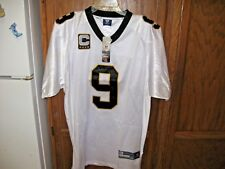 DREW BREES Captains Jersey NEW ORLEANS SAINTS Authentic #9 Throwback  NWT NFL 54