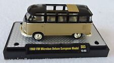1/64 M2 Machines 1960 VW Microbus Deluxe 1 of 600 Gold Acrylic Case