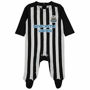 Newcastle Utd FC 20/21 Baby Sleepsuit Babygrow Bodysuit (0 -18 Mths)