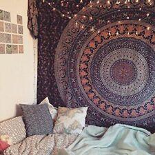 Bohemian Mandala Tapestry Indian Bedding Bedspread Wall Hanging Single 2 Pcs Set