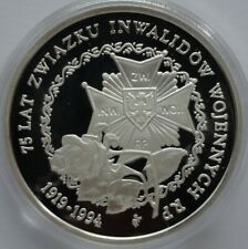 200000 ZL ZLOTYCH POLAND 1994 75th Anniversary - Disabled Association