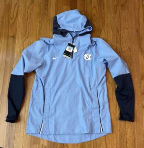 North Carolina Tar Heels UNC Nike Player Quarter-Zip Hoodie Jacket Medium