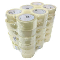 "Colonial 104617 2"" Packaging Tape, Clear, 109 Yards/Roll, Case of 36"