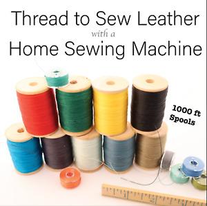 C.S Osborne Natural Waxed Hand Sewing Thread #436-72 Leather Thread