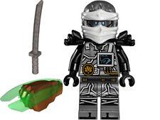 LEGO Ninjago The Hands of Time Zane mini figure Green Time Blade 70624