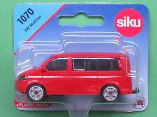 Siku Super Serie 1070 VW T5 facelift Multivan 2.0 TDI hell-verkehrsrot