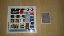 Lego 75827 - Ghostbusters - Firehouse Hauptquartier Sticker Sheet 1+2 * Neu*