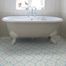 Ca'Pietra Cement Encaustic Darcy Tile, Floors / Walls, Bathroom / Kitchen