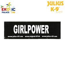 Julius K9 Trixie 151547 2 Bandes Velcro Girlpower pour Harnais Taille L