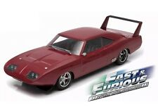 1969 Dom's Dodge Charger Daytona Custom 1/18 Greenlight Movie Car Fast & Furious