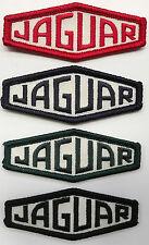 """4 x  BRODERIE """"  JAGUAR """" rouge bleu marine vert foncé noir ECUSSON BADGE"""