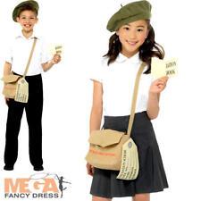 Wartime Instant Kit Kids Fancy Dress History Britain 30s 40s Childs Costume Set