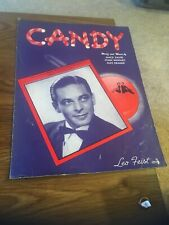 Vintage Sheet Music - Candy, David/Whitney/Kramer 1944