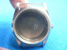 New Old Stock BULOVA Super Seville Stainless Steel Watch Case For Quartz