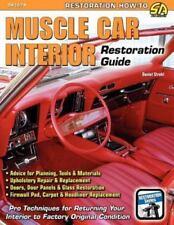 Muscle Car Interior Restoration Guide (Paperback or Softback)