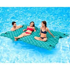 Inflatable Giant Floating Air Mattress Mat Float Large Water Pad Pool Lake River