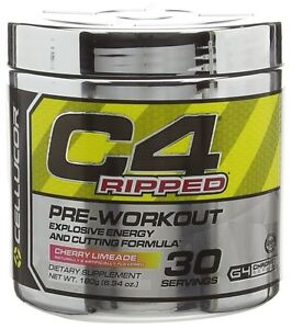 Cellucor C4 Ripped Pre Workout & Fat Burner. Energy & Fat Loss. Great Flavours