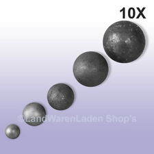 10 Stck. Vollkugel Stahlkugel massiv 30 mm Durchmesser für schmiedeeiserne Zäune