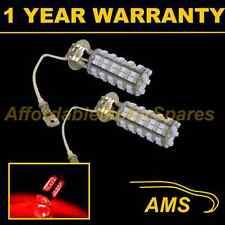 2X H3 RED 60 LED FRONT FOG SPOT LAMP LIGHT BULBS HIGH POWER KIT XENON FF500202