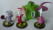 NIGHTMARE BEFORE CHRISTMAS FIGURE SET DISNEY TOUCHSTONE PICTURES